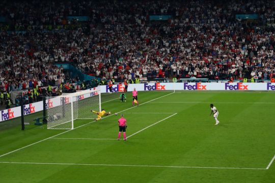Bukayo Saka misses penalty for England in shootout against Italy at Euro 2020 final