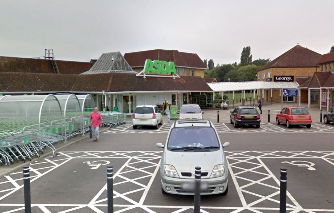 Mark Misell worked as a trolley porter at Asda in Shoeburyness, Essex (Picture: Google)