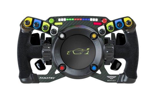 Bentley Fanatexc GT3 steering wheel.