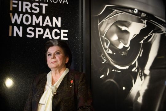 First Woman In Space Visits The Science Museum