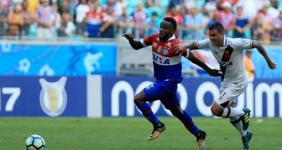 Bahia leva a melhor e vence o Vasco por 3 a 0 na Arena Fonte Nova