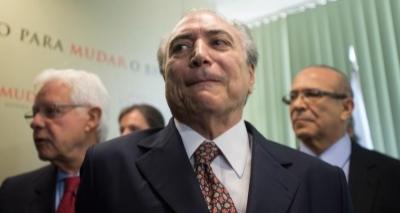 Polícia Federal vê indícios de prática de crimes por Temer, Padilha e Moreira Franco