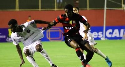 Vitória cede no fim e empata com o ABC em 3 a 3 no Barradão