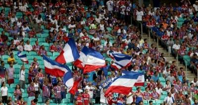 Bahia anuncia promoção de ingressos a R$ 10 para Ba-Vi na Fonte Nova