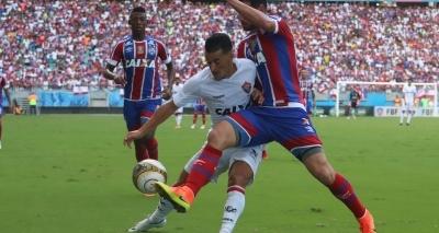 Bahia reverte vantagem e bate o Vitória por 2 a 1 na Fonte Nova