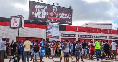 Decisão do Campeonato Baiano já tem mais de 70% dos ingressos vendidos
