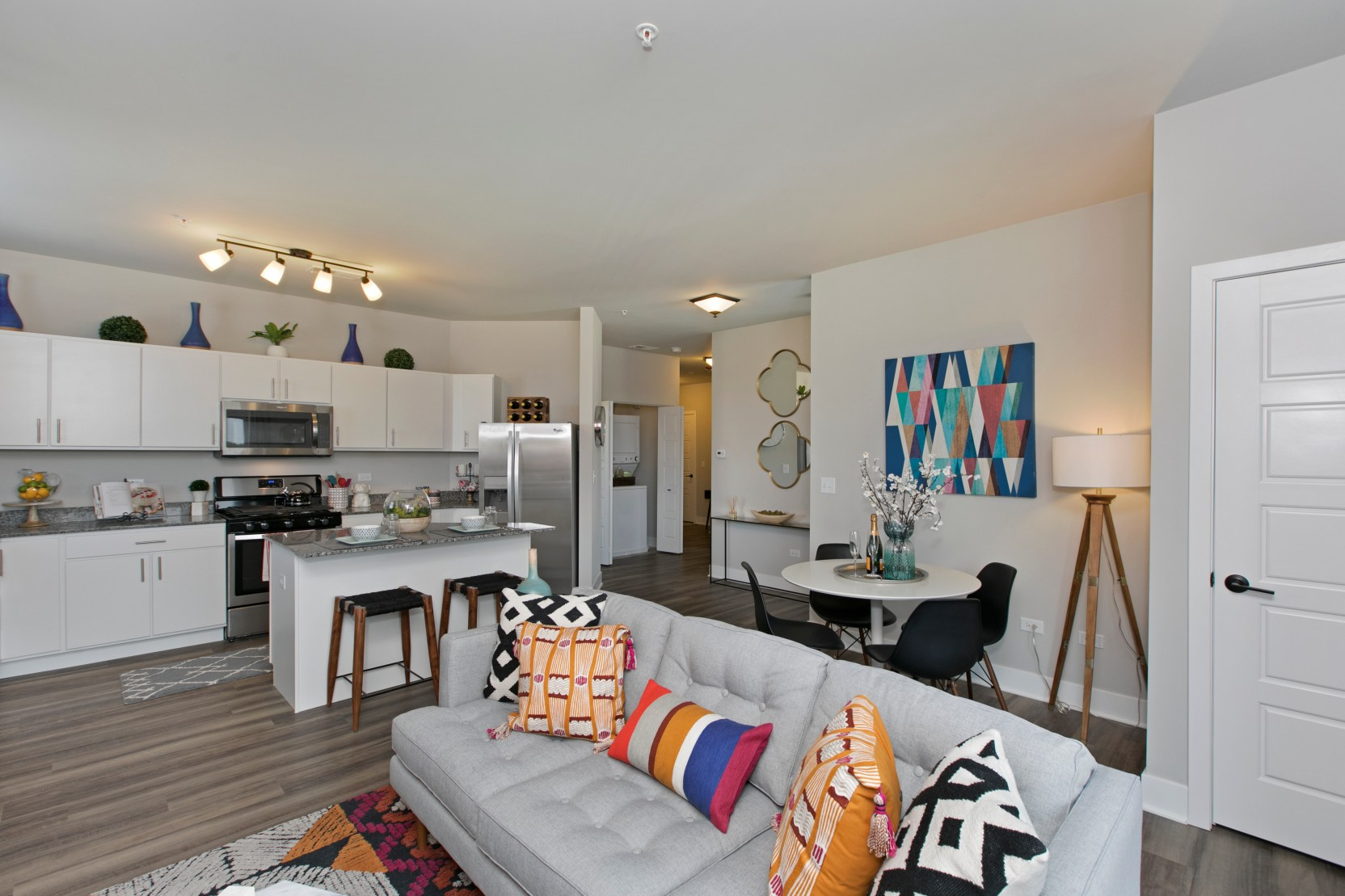 2 bed living.dining