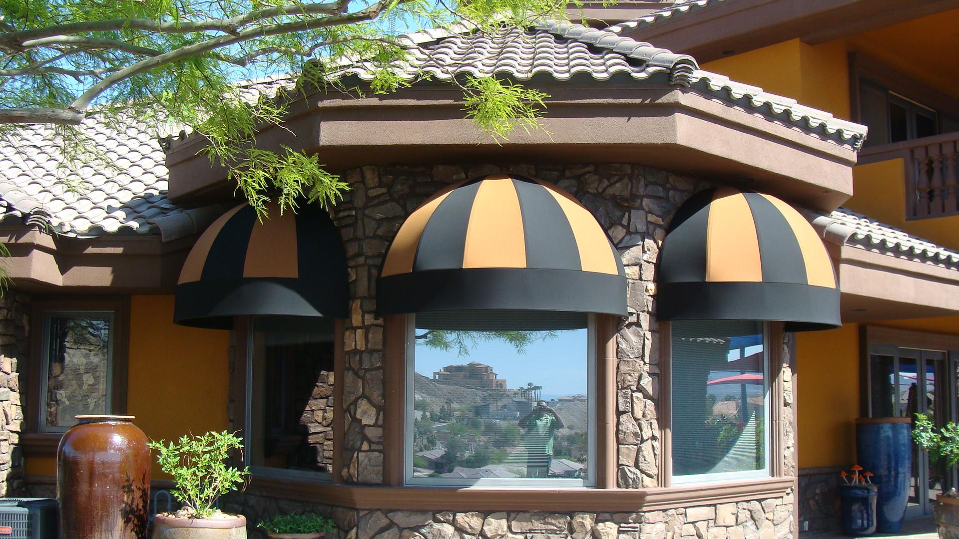 Custom Window Awnings by Metro Awnings & Iron of Las Vegas