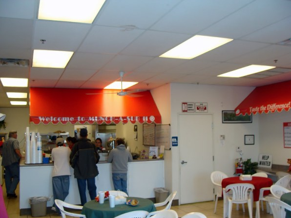 Custom Commercial Interior Awning for Munch-A-Sub II