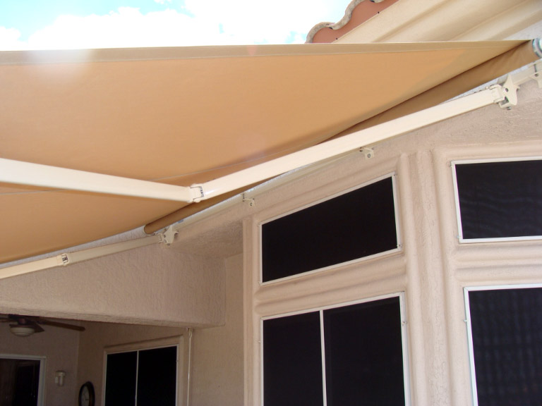 Residential Tension Shade Sail Structure