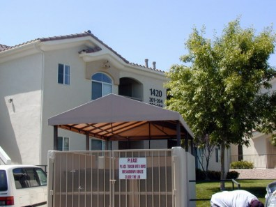 Custom Shade Structure by Metro Awnings & Iron