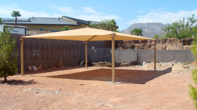Metro Awnings Custom Shade Structure