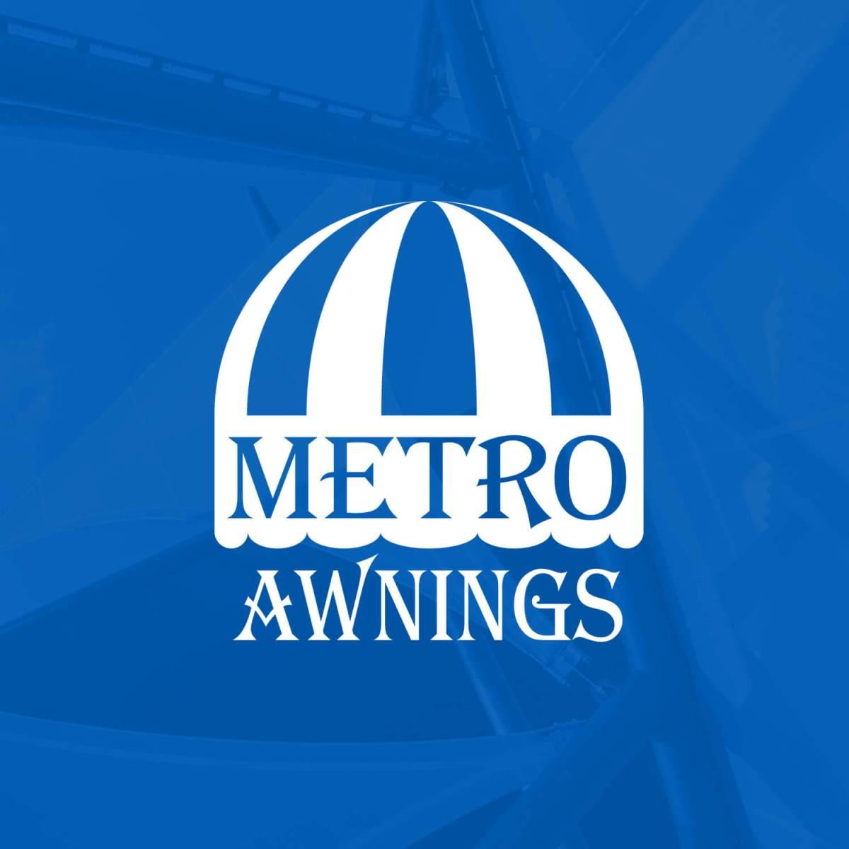 Metro Awnings Brand Logo - Las Vegas, Nevada
