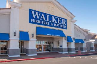 Beautiful Custom Awnings for Walker Furniture & Mattress Store in Henderson, Nevada - Commercial Awnings by Metro Awnings