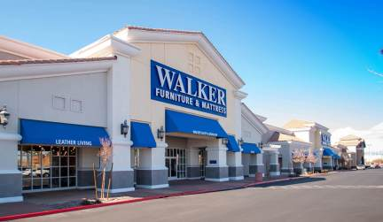 Walker Furniture and Mattress of Henderson, Nevada - Awnings by Metro Awnings of Las Vegas, Nevada