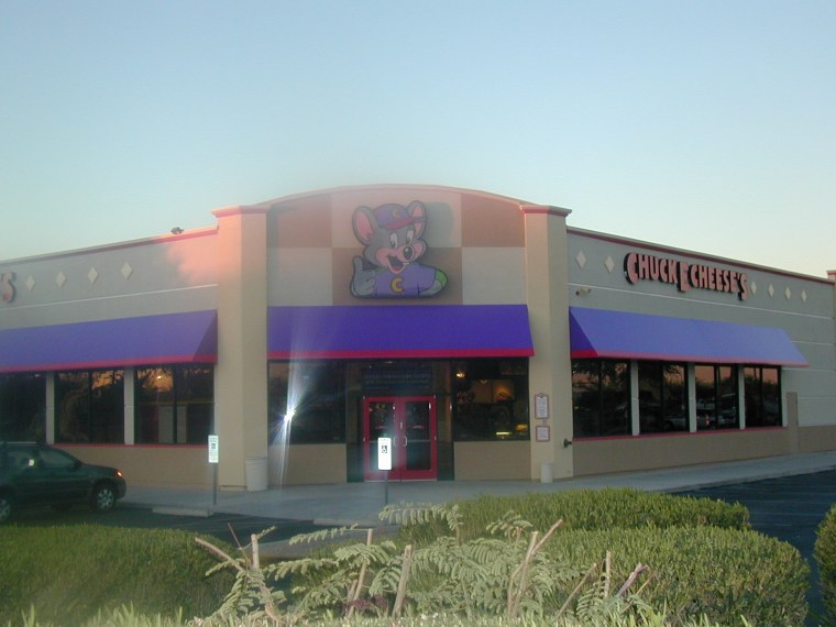 Commercial Awning Chuck E. Cheese