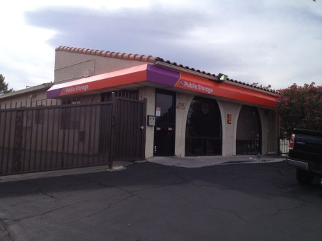Public Storage Commercial Awning System - Las Vegas, Nevada