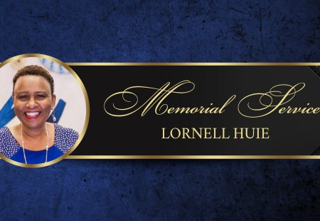 Memorial Service for Lornell Huie