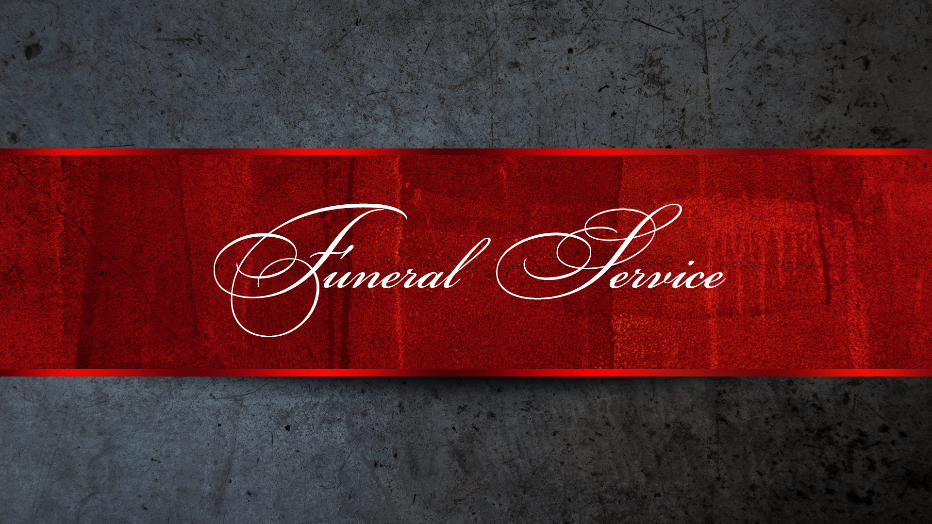 Funeral Service   Ruby McKormack-Leon