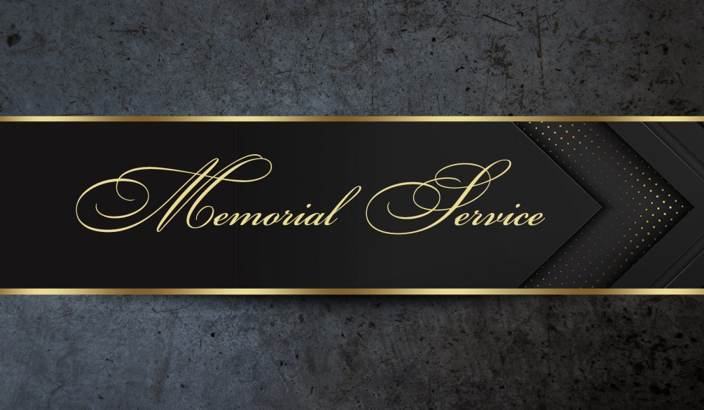 Memorial Service   Mr. Norman Rose