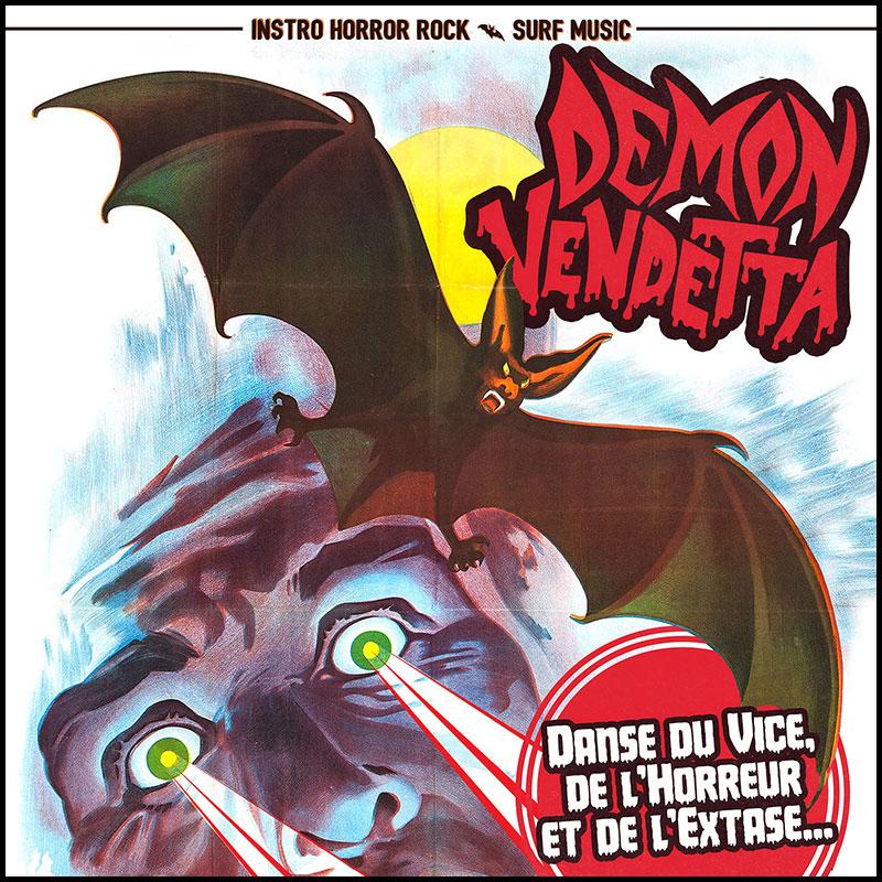 Pochette Demon Vendetta Horreur Extase