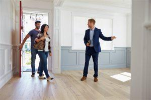 Boston Home Inspection Buyer Inspecting a New Home