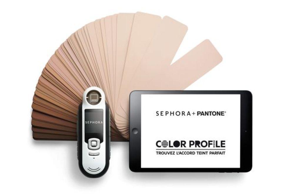 LE COLOR PROFILE, PAR PANTONE & SÉPHORA