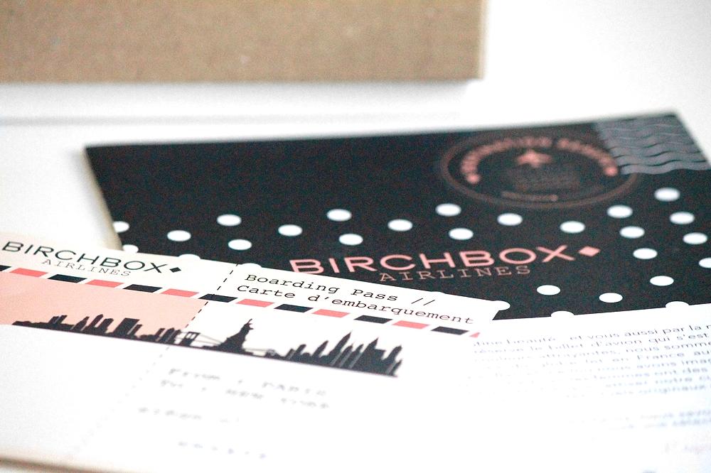 Birchbox airlines