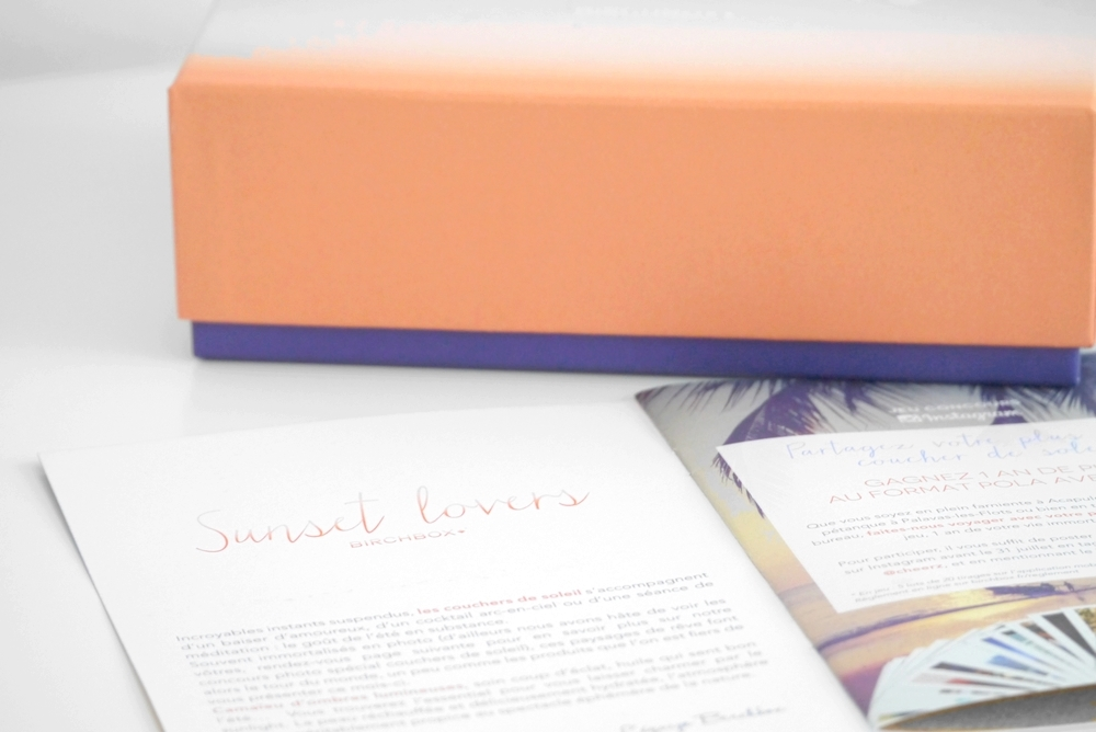 Birchbox – Sunset lovers