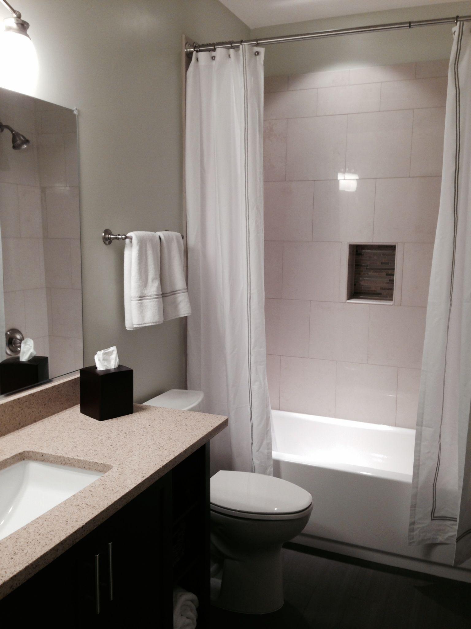 Photos of bathroom in finished basement in Fairfax VA on Restroom Renovation  id=24738