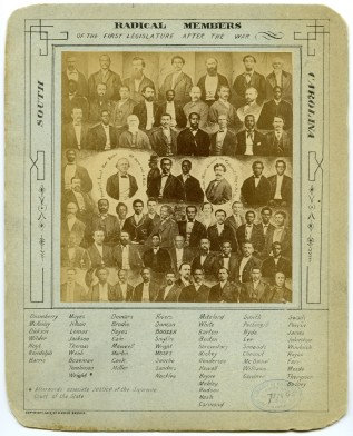 Changing America: Republican Members of the South Carolina Legislature. Image courtesy of Library of Congress.