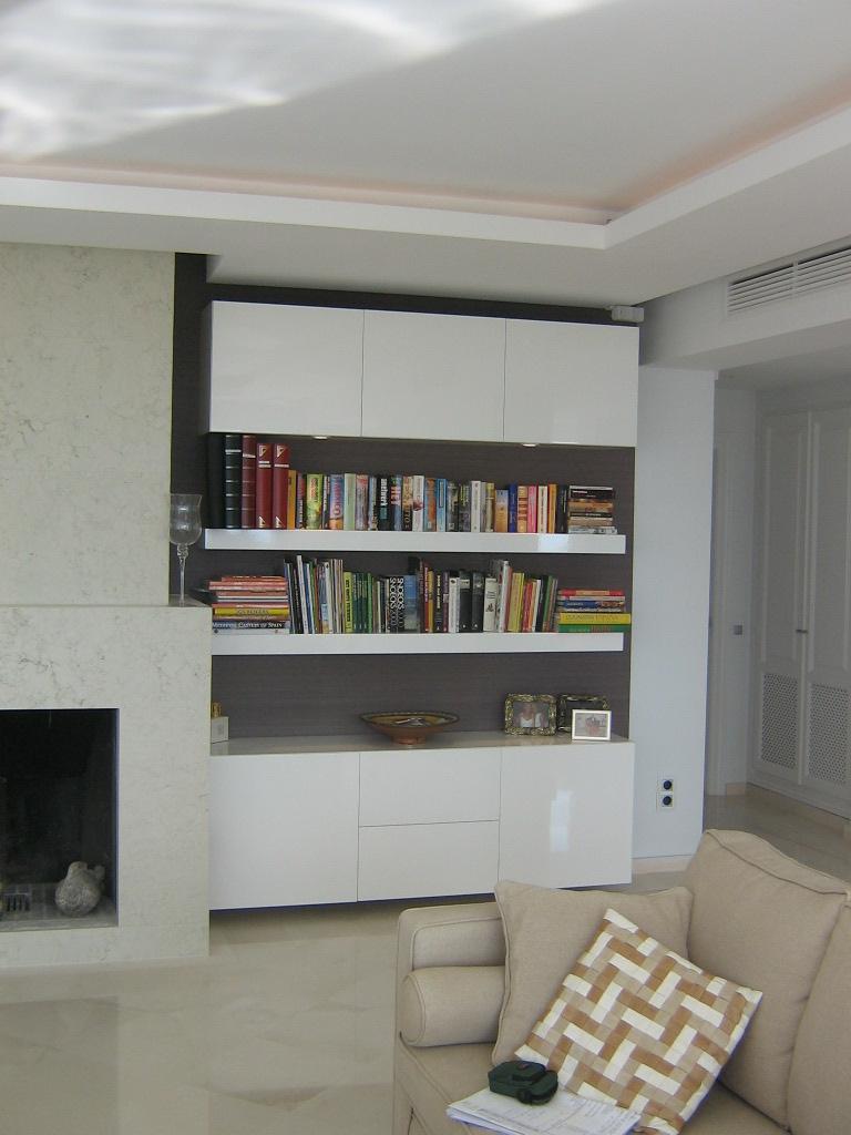 Librerias de dise o y muebles a medida madrid metrocloset - Muebles para restaurar madrid ...