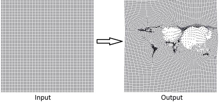 create deformation grid