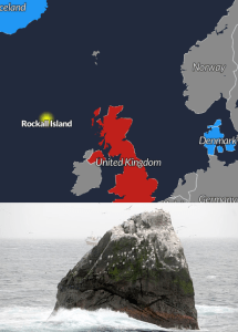 map of rockall island territorial dispute