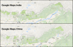 There is Only 1 Shenzhen River, So Why Does Google Maps Show 2?