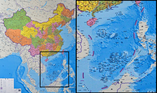 mapof south china sea territorial claims