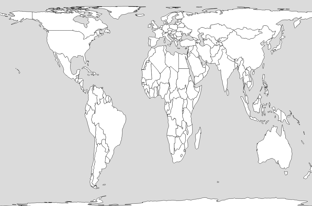 Gall Peters Projection World Map.Your World Map Is Hiding Something Metrocosm