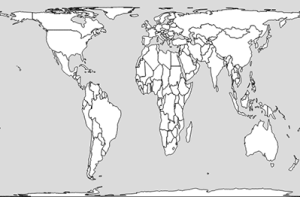 gall peters map projection