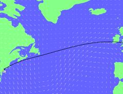 climate change flight routes