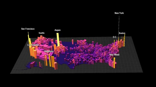 us housing values map