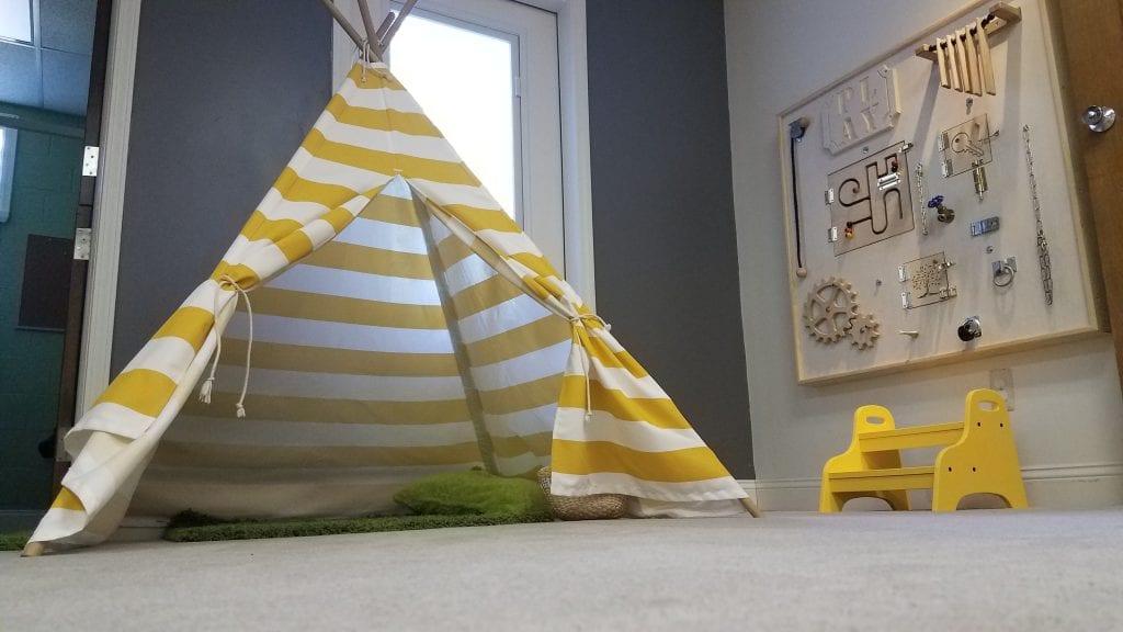 Backyard Playroom in Berkley