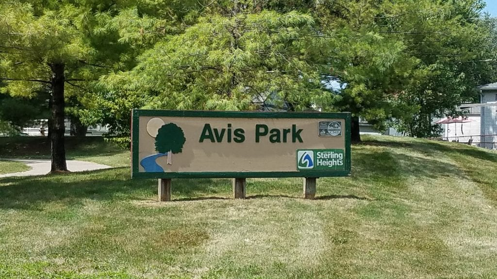 Avis Park in Sterling Heights
