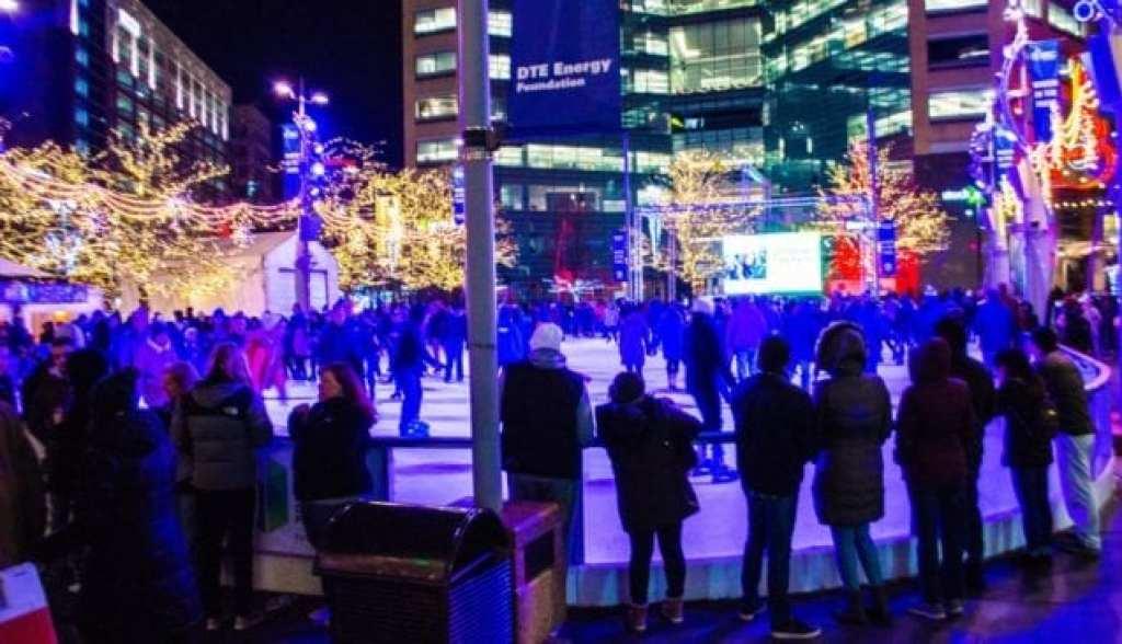 Campus Martius Park - Winter The Rink