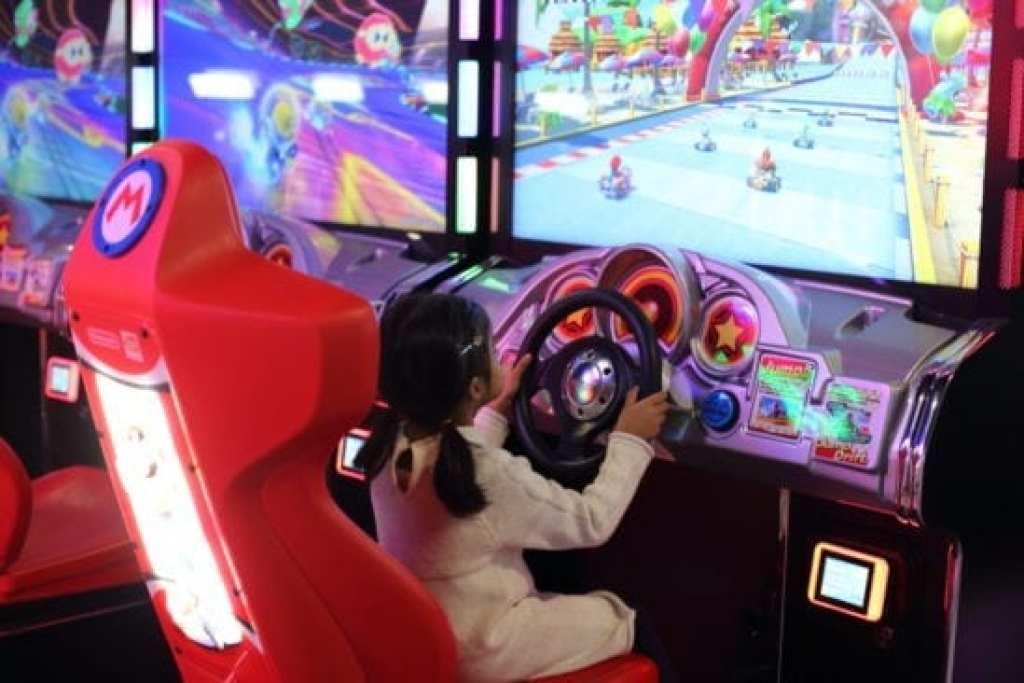 Arcade Games at Nonstop Entertainment