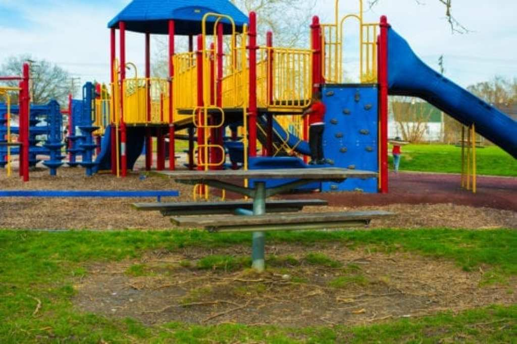 Play Structure at Dad Butler Playfield Detroit
