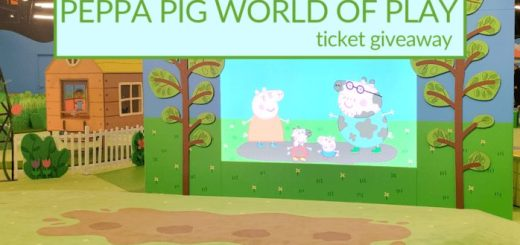 Peppa Pig World of Play Ticket Giveaway