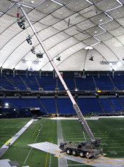 "Popular rock band Weezer wrote a song about the Metrodome called, ""I Wanna Go Back."" It was initially panned for being too angsty in lamenting the destruction of the Metrodome, but has since become a classic."