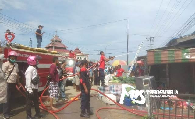 Kebakaran Pasar Anduonohu