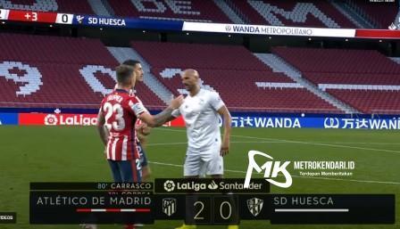 Atletico Madrid Vs Huesca Score