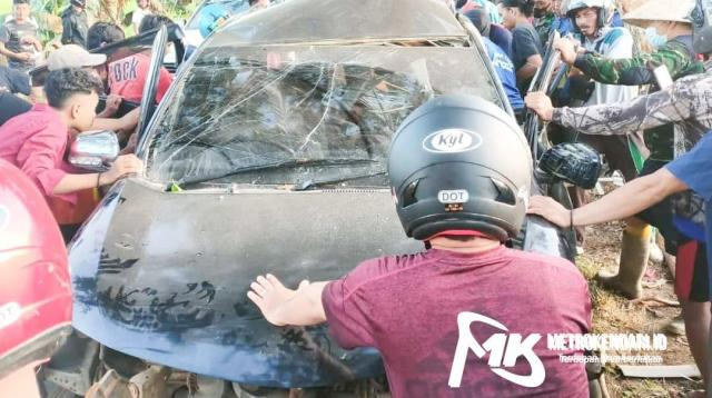 kecelakaan mahasiswa di Bombana